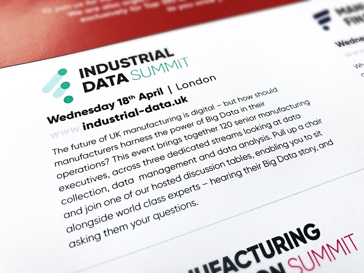 We are attending the Industrial Data Summit